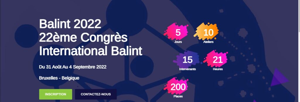 22eme Congres International Balint 2022